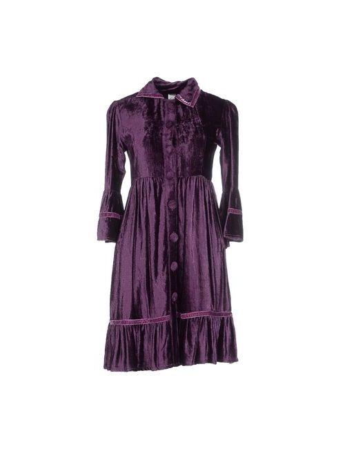 ...Love Is Love!... | Женское Фиолетовое Короткое Платье