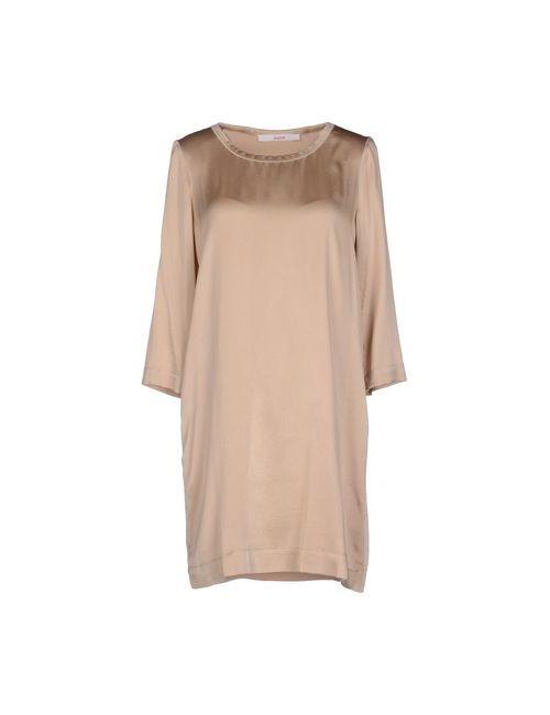Jucca | Женское Бежевое Короткое Платье