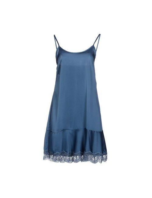 Myf | Женское Синее Короткое Платье