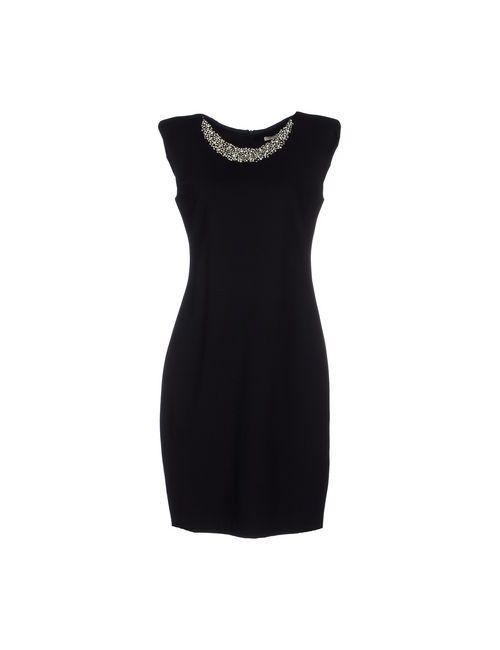 Fairly | Женское Чёрное Короткое Платье