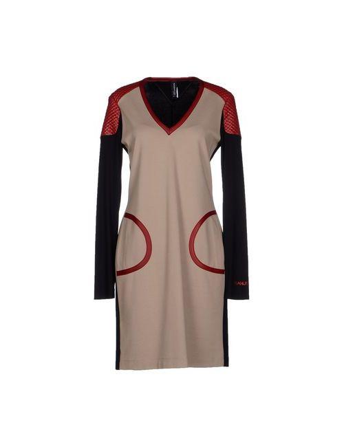 Pianurastudio | Женское Хаки Короткое Платье