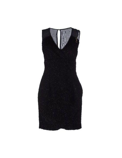 Bonsui | Женское Черный Короткое Платье