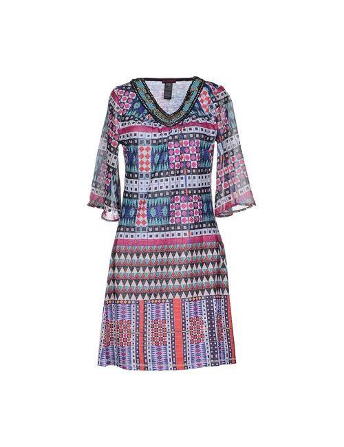 Custo Barcelona | Женское Фуксия Короткое Платье