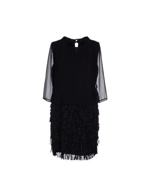 Twin-Set Simona Barbieri   Женское Чёрное Короткое Платье