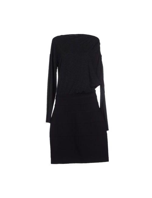 Giallo | Женское Серое Платье До Колена