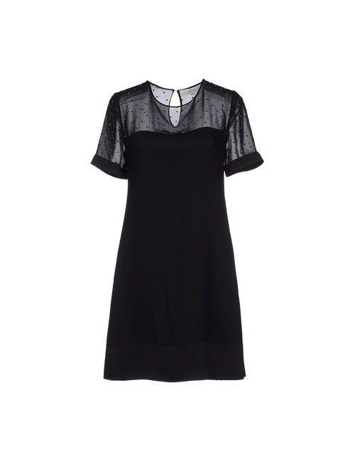 Vanessa Bruno Athe' | Женское Чёрное Короткое Платье