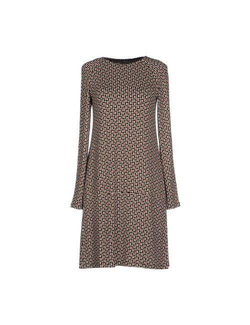 Siyu | Женское Чёрное Короткое Платье