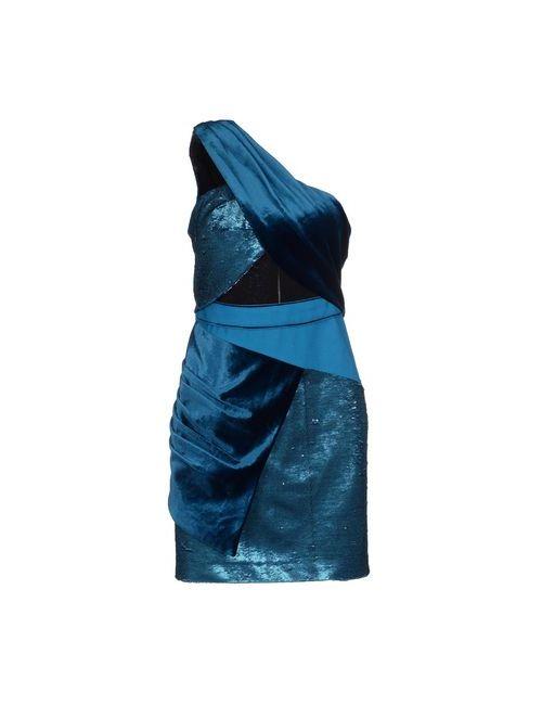 THREE FLOOR | Женское Синее Короткое Платье