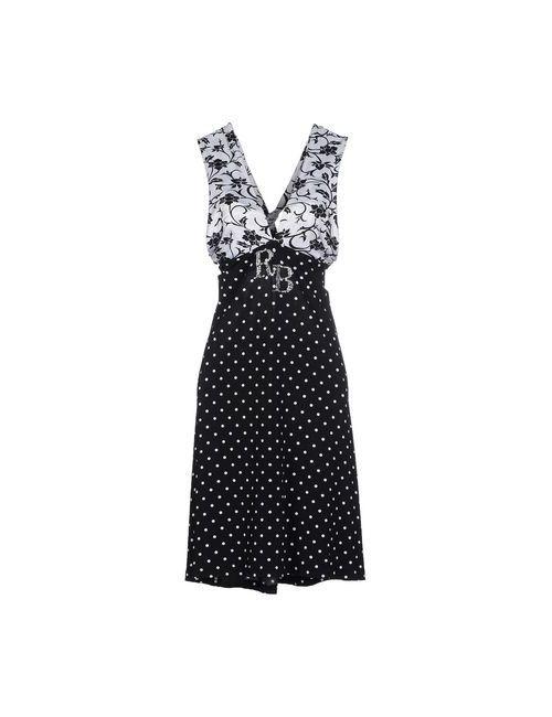 Roccobarocco | Женское Черный Короткое Платье