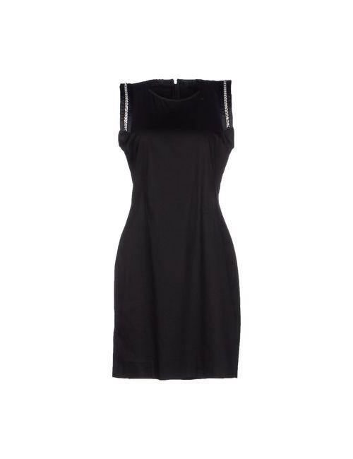 Versace Jeans   Женское Чёрное Короткое Платье