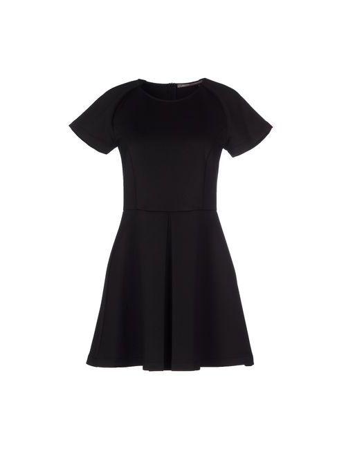 OLIVIA HOPS | Женское Чёрное Короткое Платье