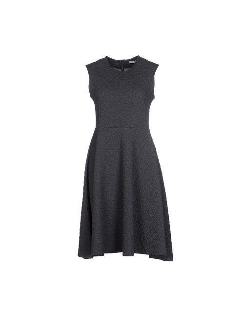 Myf | Женское Серое Платье До Колена