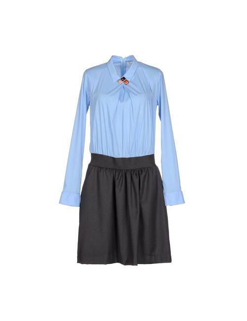 Souvenir Clubbing | Женское Голубое Короткое Платье