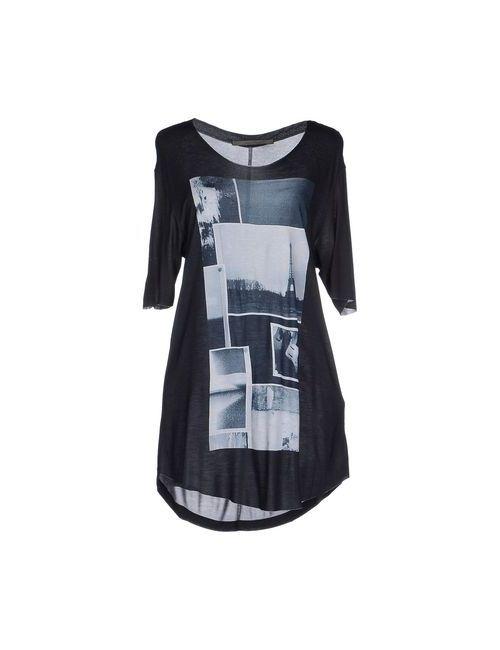 Superfine | Женское Чёрное Короткое Платье