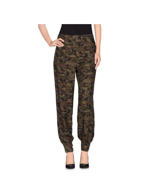 Anna Rachele Jeans Collection | Женские Зелёные Повседневные Брюки