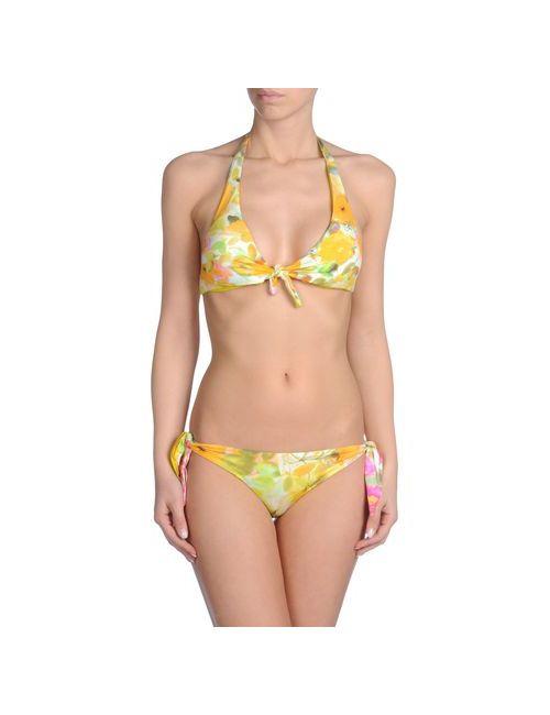 Blumarine Beachwear | Женское Зелёное Бикини