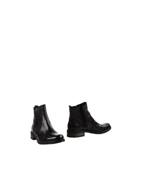 Fratelli Karida | Женские Чёрные Полусапоги И Высокие Ботинки