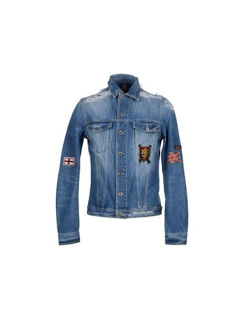 Dondup   Мужская Синяя Джинсовая Верхняя Одежда