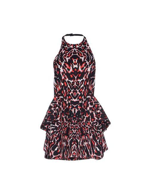 Mcq Alexander Mcqueen | Женское Красное Короткое Платье