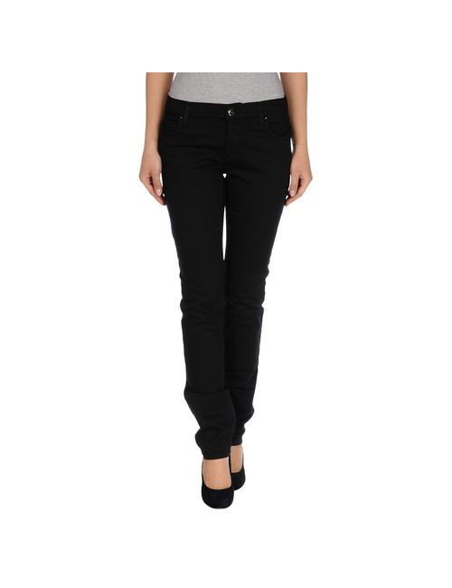Versace Jeans | Женские Чёрные Джинсовые Брюки