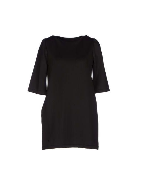 Daniela Fargion | Женское Чёрное Короткое Платье