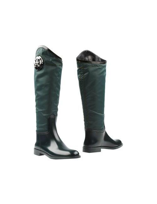 Fabi | Женские Зелёные Сапоги