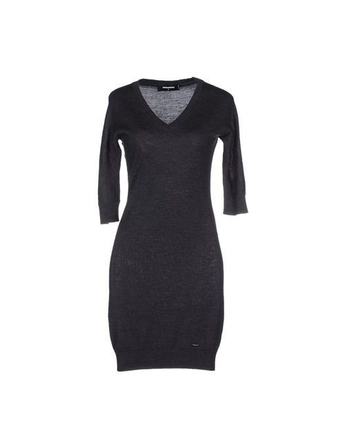 Dsquared2 | Женское Серое Короткое Платье