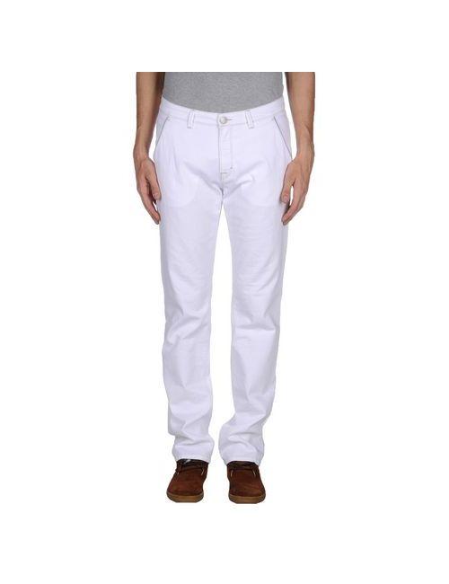 Trussardi Jeans | Мужские Белые Джинсовые Брюки