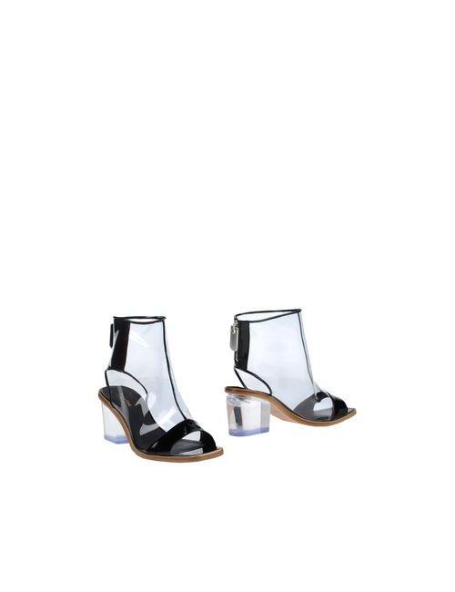 Calvin Klein Collection | Женские Чёрные Полусапоги И Высокие Ботинки