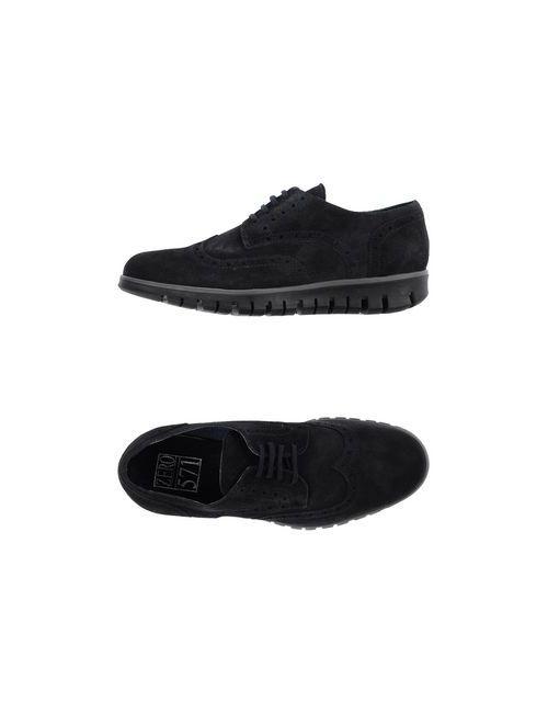 Zero_571 | Мужская Синяя Обувь На Шнурках