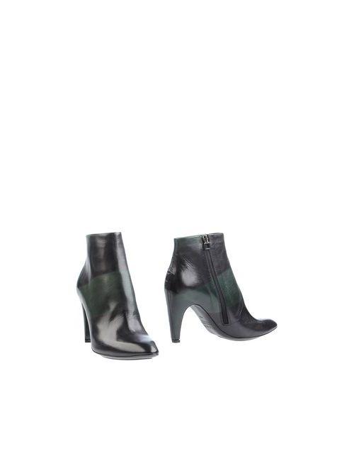 Taoma F. | Женские Зелёные Полусапоги И Высокие Ботинки