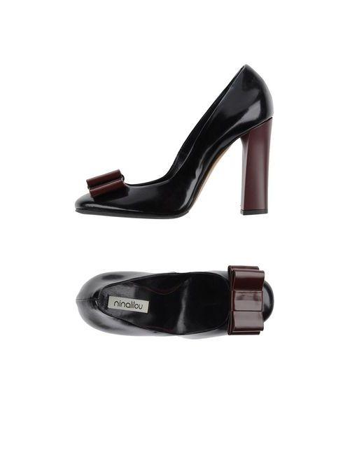 Ninalilou | Женские Чёрные Туфли