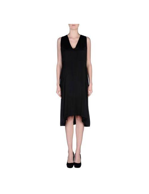 Dondup | Женское Чёрное Платье До Колена