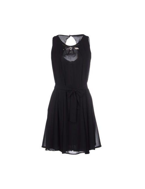Siste' S | Женское Черный Короткое Платье