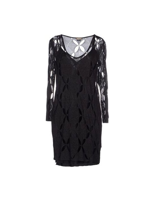 Galliano | Женское Серое Короткое Платье