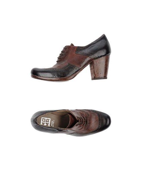 Moma | Женская Коричневая Обувь На Шнурках