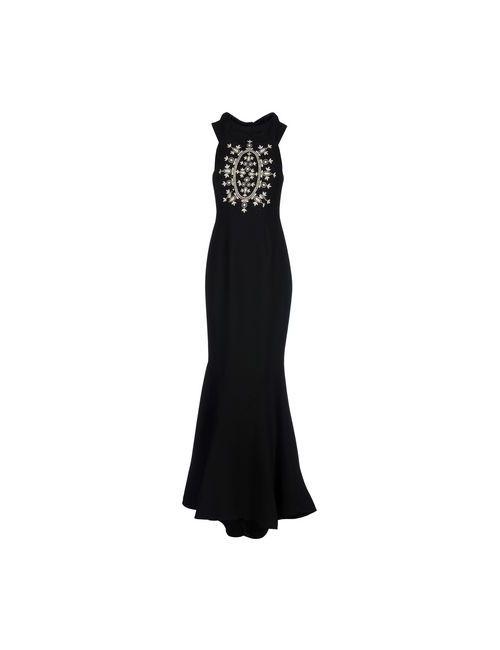Alex Vidal | Женское Чёрный Длинное Платье