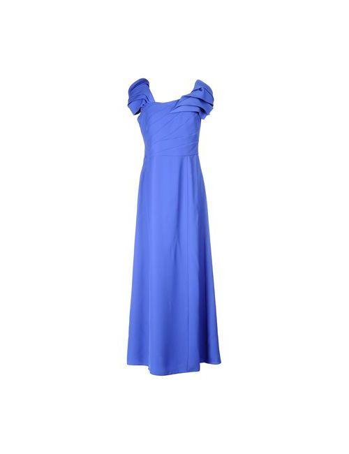 Armani Collezioni | Женское Синее Длинное Платье