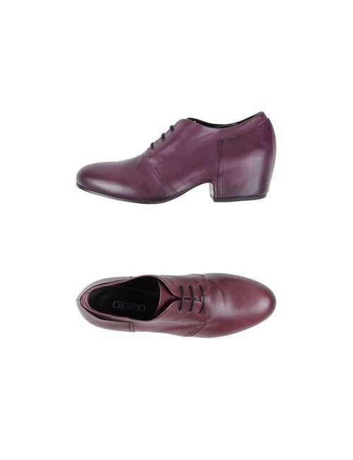 Vic Matie' | Женская Фиолетовая Обувь На Шнурках
