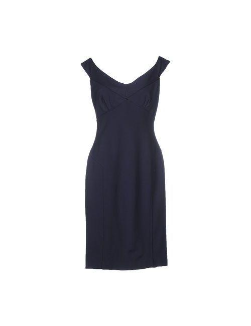Ralph Lauren Black Label | Женское Синее Короткое Платье