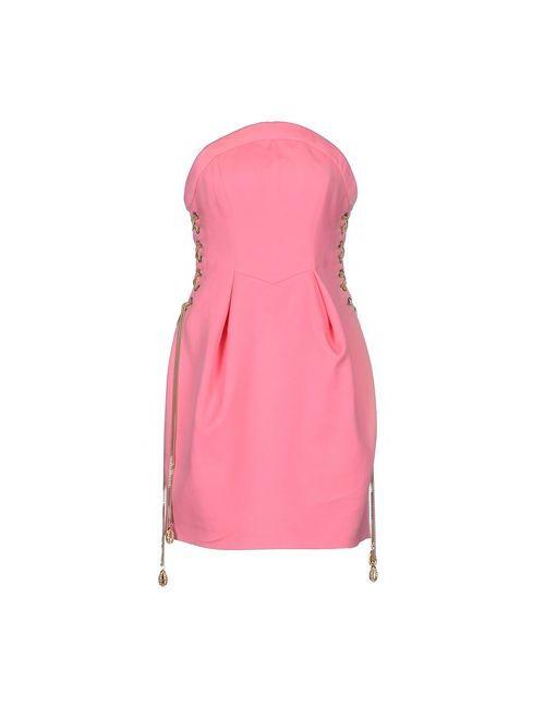 Dsquared2 | Женское Розовое Короткое Платье