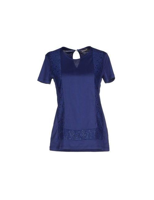 Galliano | Женская Синяя Футболка