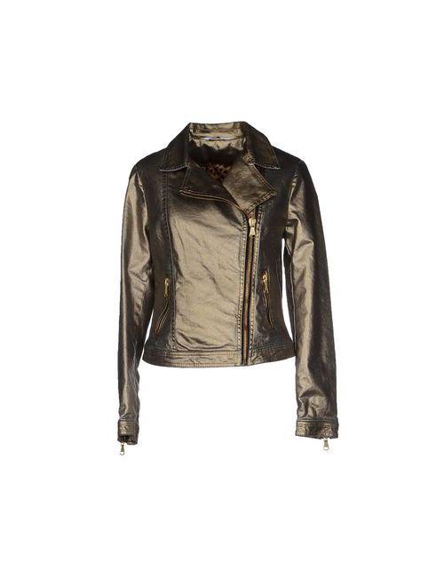 Liu •Jo Jeans   Женская Золотистая Джинсовая Верхняя Одежда