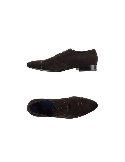 Alberto Guardiani | Мужская Коричневая Обувь На Шнурках