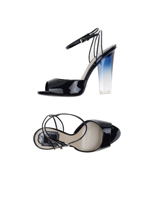 Dior | Женские Синие Сандалии