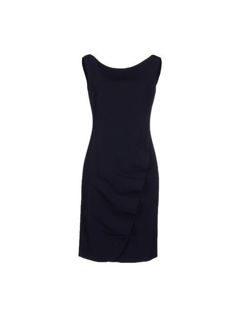 Moschino | Женское Синее Короткое Платье