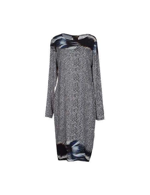 Roberto Cavalli | Женское Черный Платье До Колена