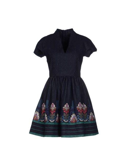 Manoush | Женское Синее Короткое Платье