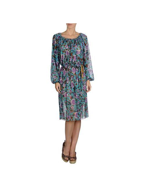Jean Paul Gaultier Soleil | Женское Бирюзовое Пляжное Платье