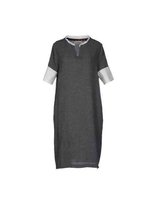 Ottod'Ame | Женское Серое Короткое Платье